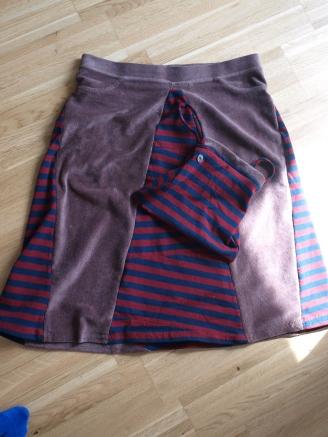 #Kombination aus Hose und Kleid